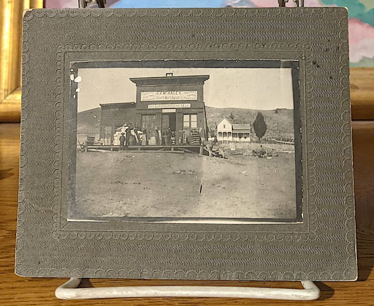 Vintage Photograph: Greetings From The Newway Grocery 3111 to 3115 Shattuck Ave., South Berkeley, [California].