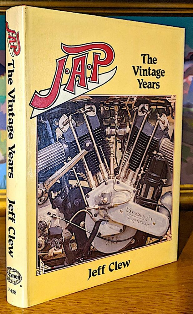 J.A.P. [John Alfred Prestwichj] The Vintage Years. Jeff Clew.