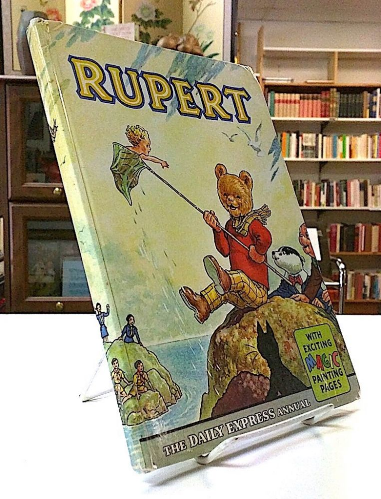 Rupert. The Daily Express Annual; With Exciting Magic Painting Pages. Alfred Bestall.