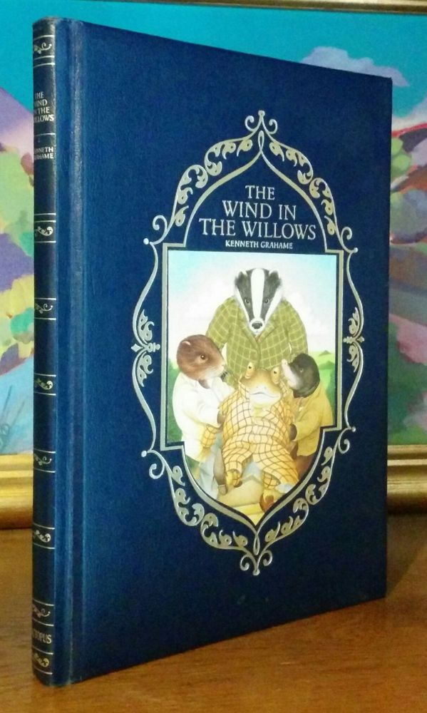 The Wind in the Willows. Illustrations by Jonathan Langley. Kenneth Grahame.