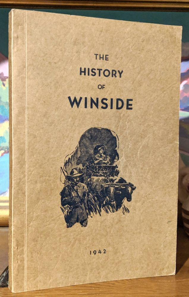 The History of Winside Nebraska. Northside, Railroad, Growth and Development-- Winside, Settlement and Growth to the Present. F. M. - F. J. Dimmel Jones, Associiate, author, and publisher of the winside tribune.
