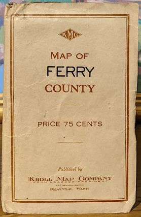 Map of Ferry County. Kroll Map Company