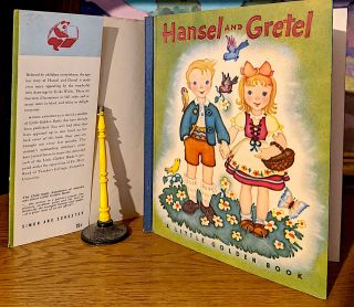 Hansel and Gretl. A Little Golden Book. Jacob, William Grimm