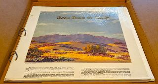 Hilton Paints the Desert. Forward by Ed Ainsworth. John W. Hilton