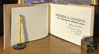 Bummer & Lazarus. Sanfrancisco's Famous Dogs. A true Story as Reported in the Newspapers of 1861-1865