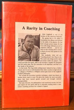 Gagliardi of St. Johns. The Coach - The Man - The Legend