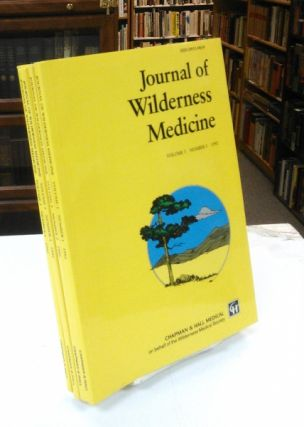Journal of Wilderness Medicine (Volume 3, Numbers 1-4, 1992). Paul S. Auerbach, Oswald Oesz