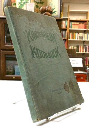 Kinderheim Kookbook [ cover title ]; Cook Book Published by the Ladies Auxiliary for the benefit...
