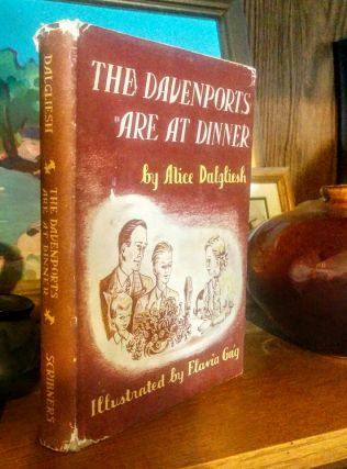 The Davenports Are At Dinner. Illustrated by Flavia Gag. Alice Dalgliesh