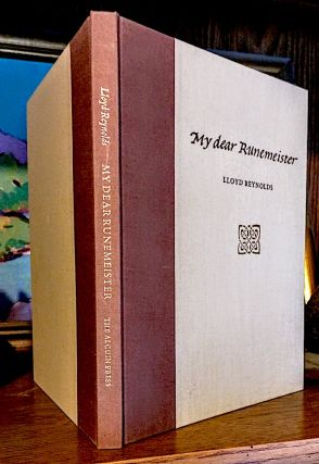 My Dear Runemeister. A Voyage Through The Alphabet. Lloyd Reynolds.