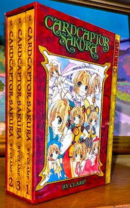 Cardcaptor Sakura. Special Collector's Edition. Volumes 1-3 (Boxed Set). Bonus Clow Card Bookmark...