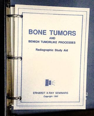 Bone Tumors and Benign Tumorlike Processes. Radiographic Study Aid (Flash Cards 1-42), 1989. -- Vertebral Body Alterations. Radiographic Study Aid (Flash Cards 1-42), 1990