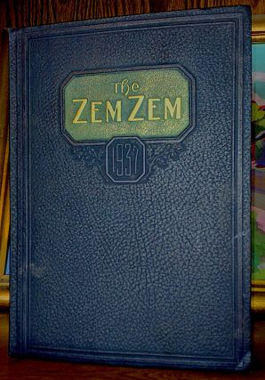 The Zem Zem of 1937 [Yearbook