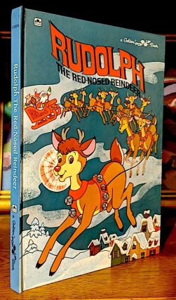 Rudolph the Red Nosed Reindeer. A Golden Pop-Up Book. Robert L. May.