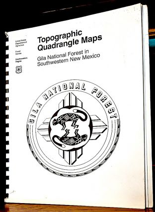 Topographic Quadrangle Maps Gila National Forest in Southwestern New Mexico. Forest Service.