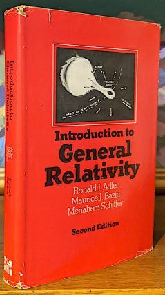 Introduction to General Relativity. International Series in Pure and. Applied Physics