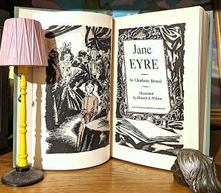 Jane Eyre. The Illustrated Modern Library. Illustrated by Edward A. Wilson