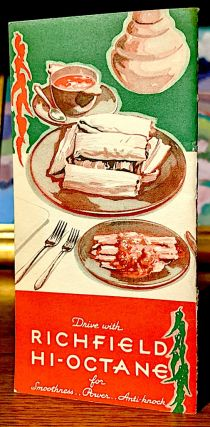 Mexican Dishes. Dishes of the Dons. Souvenir Booklet From Your Richfield Dealer
